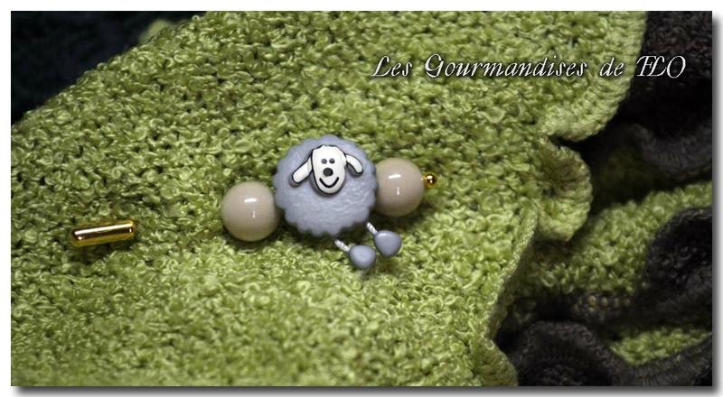 Fibule ''Petit mouton gris''