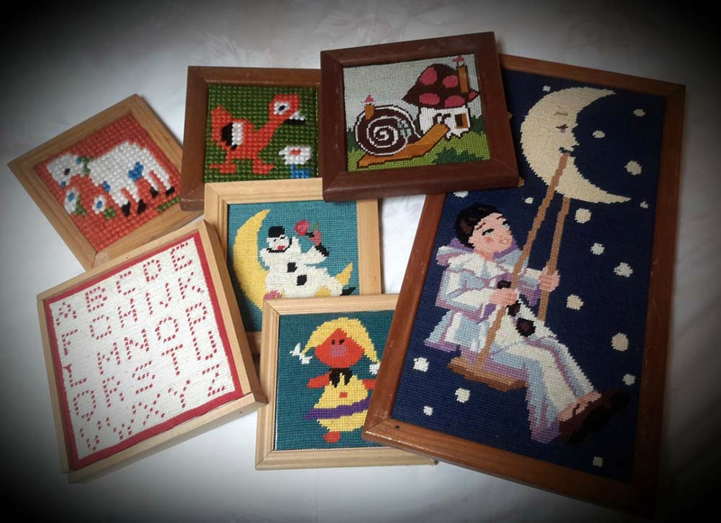 anciennes broderies