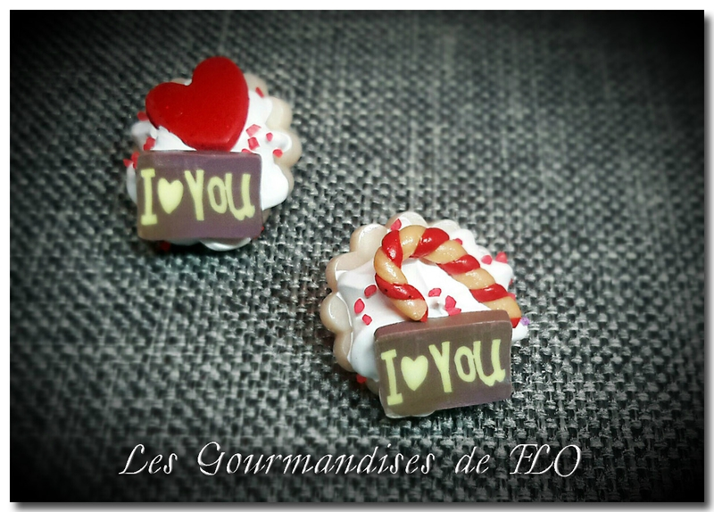 boutons gourmands candycane I love you~2