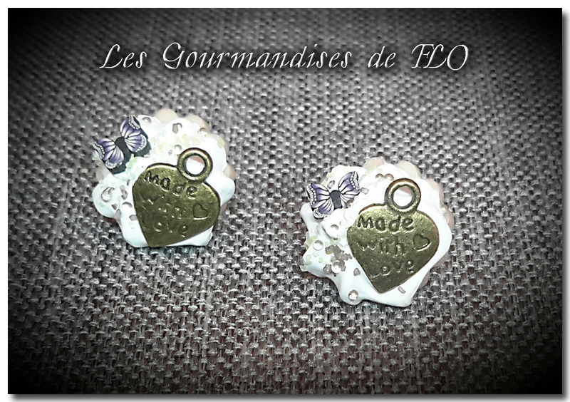 boutons gourmands papillon made with love