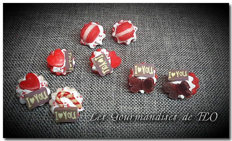 boutons gourmands rouge