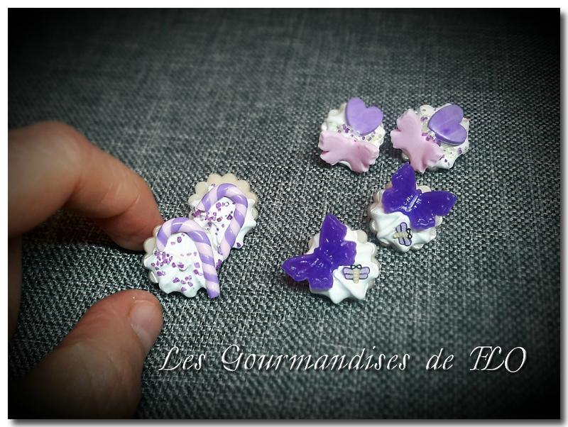 boutons gourmands violet