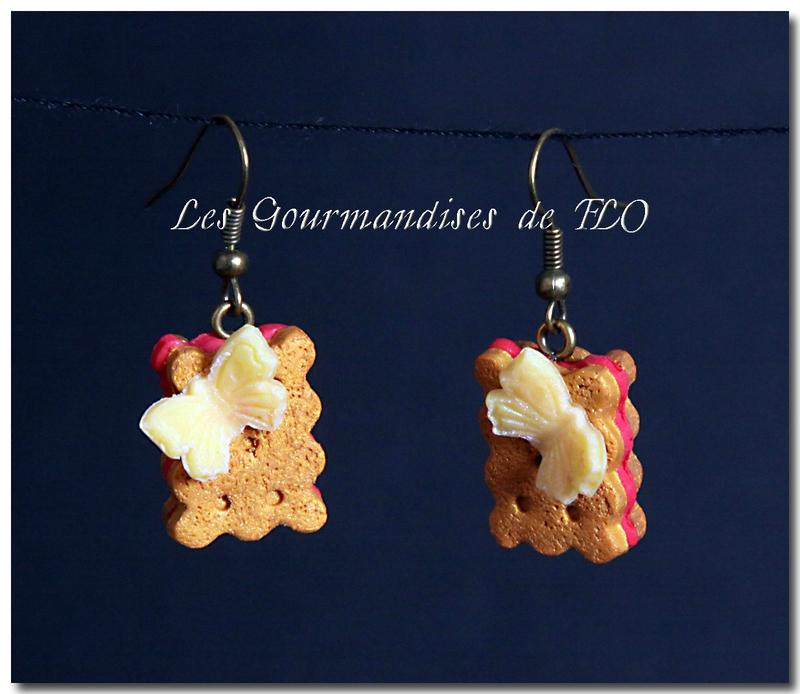 Un papillon sur mon biscuit (collection La Gourmandise est un joli défaut)