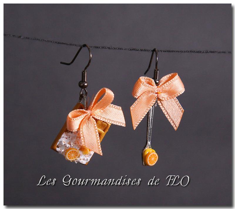 Gaufre à l'orange (collection La Gourmandise est un joli défaut)