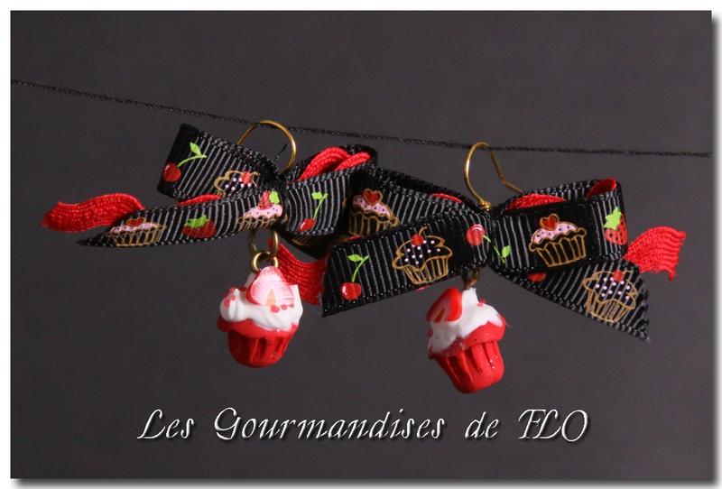 Mini cupcakes fraise (collection La Gourmandise est un joli défaut)