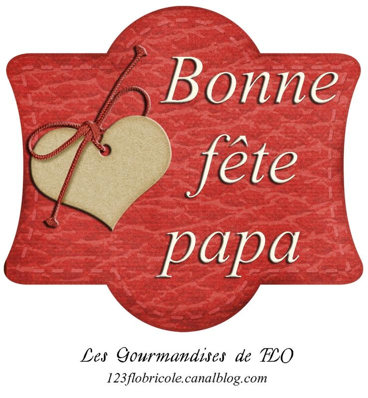 Etiquette fête des pères Gourmandises de FLO 4