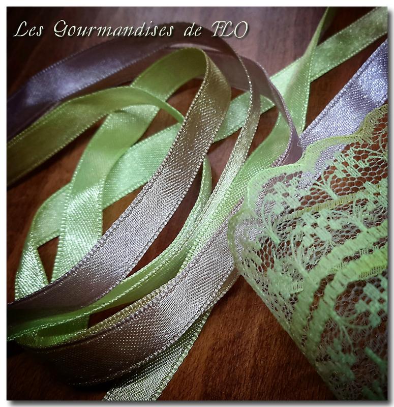 ruban teint vert marron 2