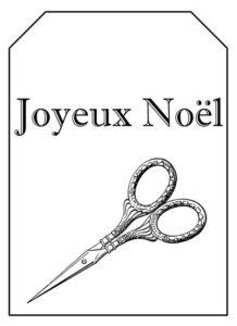 étiquette noel couture 1