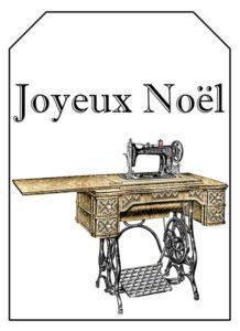 étiquette noel couture 2