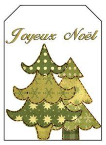 étiquette noel hiver 4