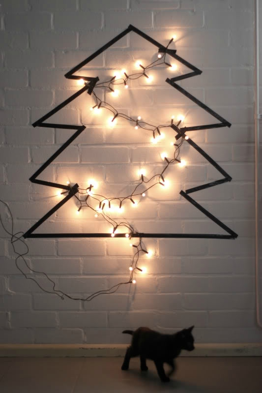 loveaesthetics_DIY_christmas_tree_masking_tape