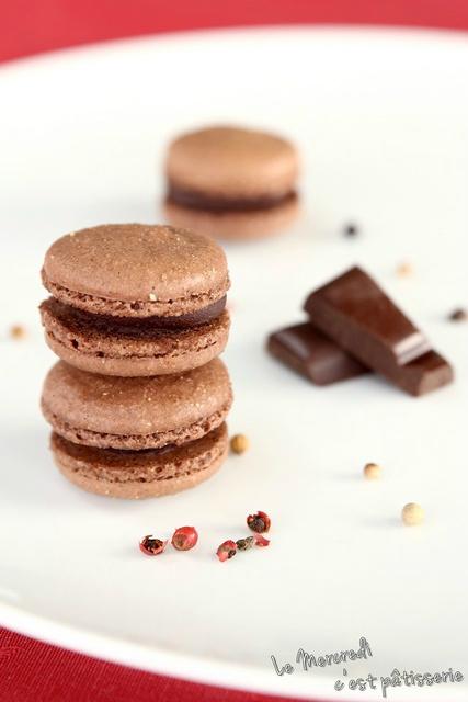 macarons chocolat-poivre2