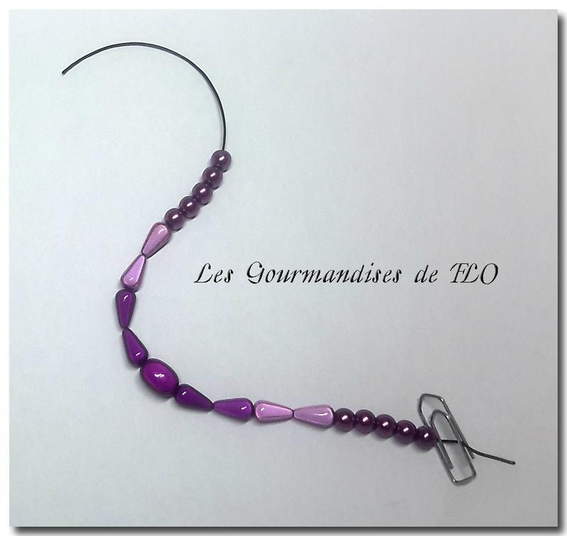 bracelet violet 1
