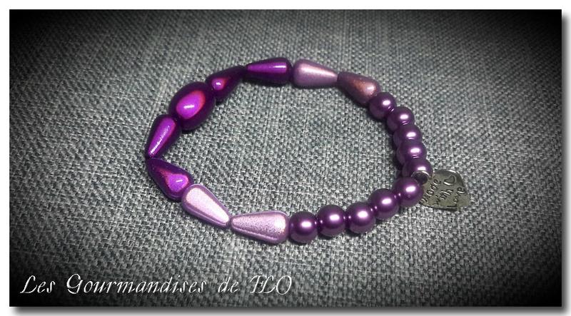 bracelet violet 6