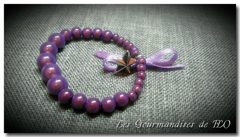 bracelet violet 5