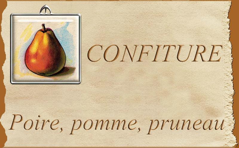 confiture poire pomme pruneau blog