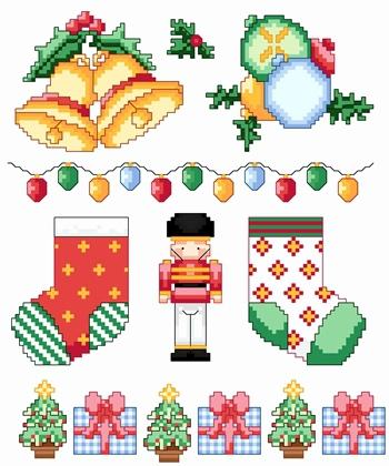 DMC Christmas Motifs 2