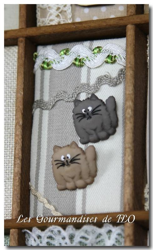 boutons 2 chats b