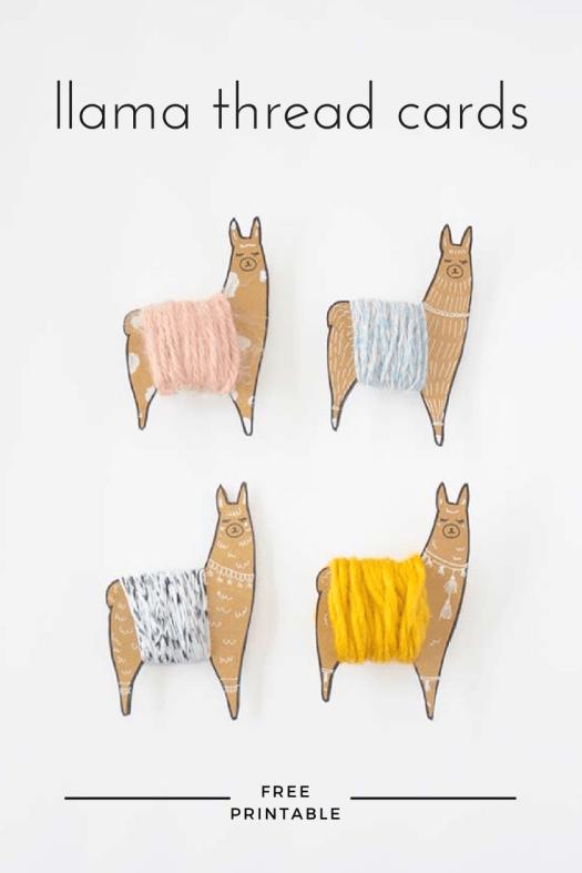 llama-thread-bobbins