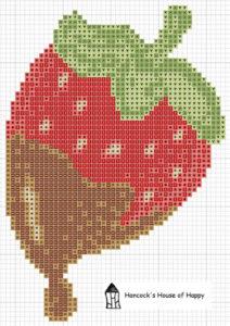 chocolate strawberry chart