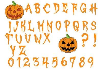 alphabet_point_de_croix_halloween_avec_des_citrouilles