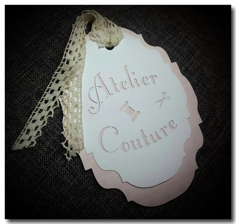 Etiquette atelier couture