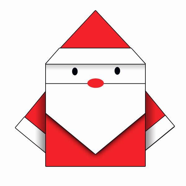 origami_pere_noel