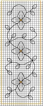 1207 Marque page - Fleurs