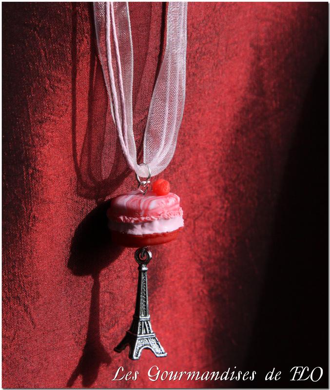 collier macaron parisienne