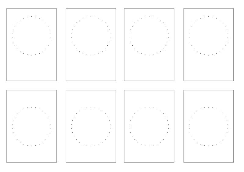 cartes cercles fils petits