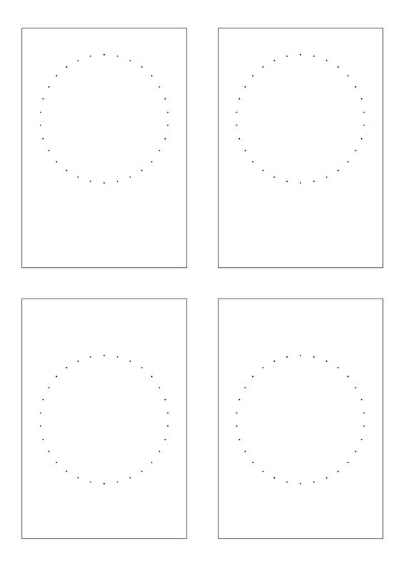 cartes cercles fils