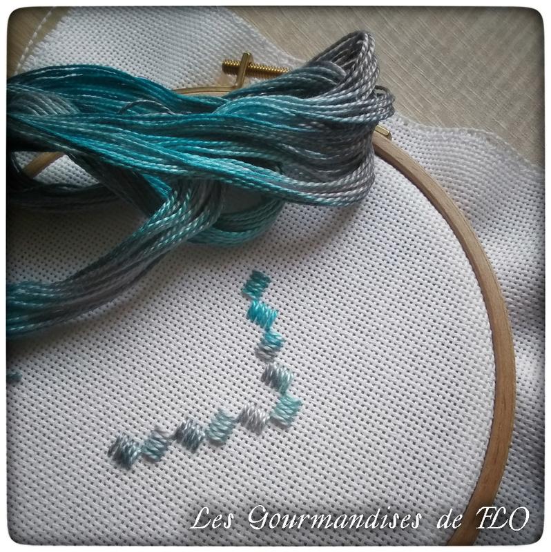 Carnet hardanger bleu 1