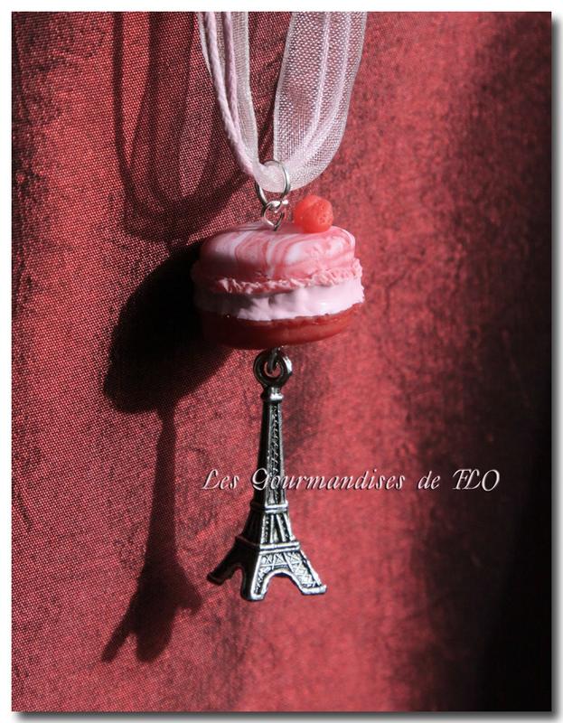 Collier Macaron à la parisienne Tagada