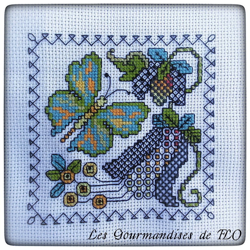 Papillon blackwork